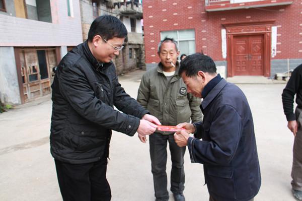 学院赴天台白鹤镇开展结对帮扶慰问活动[图]